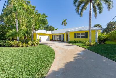 Palm Beach Single Family Home For Sale: 2285 Ibis Isle Road E