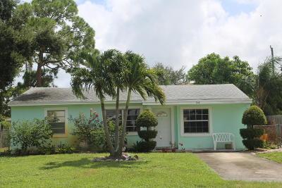 Lantana Single Family Home For Sale: 118 Milton Street