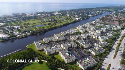 Boynton Beach Condo For Sale: 19 Colonial Club Drive #204