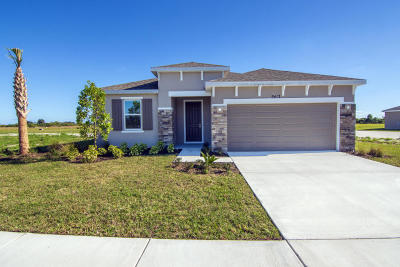 Fort Pierce Single Family Home For Sale: 5411 Entertainment Way