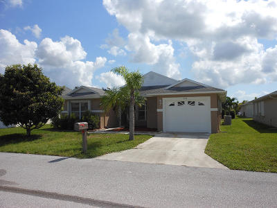 Fort Pierce Single Family Home For Sale: 6724 Tulipan