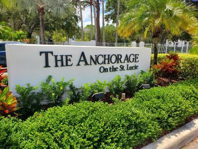 St Lucie County Condo For Sale: 2504 SE Anchorage Cove #C-2