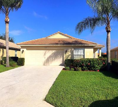 St Lucie County Single Family Home For Sale: 610 NW Stanford Lane