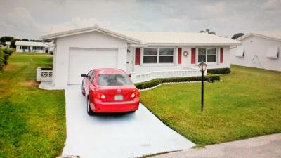 Boynton Beach Single Family Home For Sale: 1706 SW 19th Drive