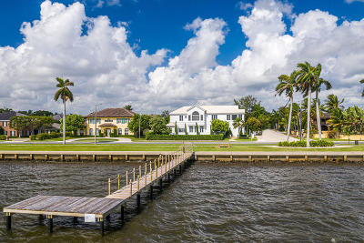 West Palm Beach Single Family Home For Sale: 5501 S Flagler Drive