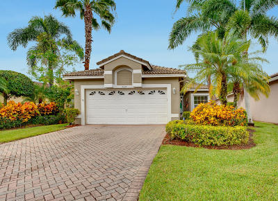 Boynton Beach Single Family Home For Sale: 9539 Cherry Blossom Court