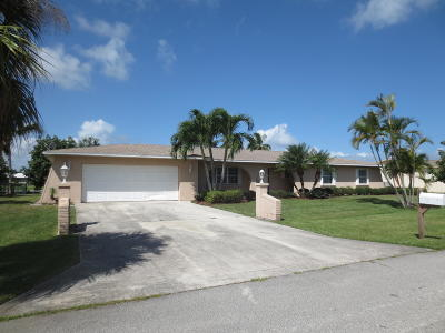 St Lucie County Single Family Home For Sale: 123 Queens Road