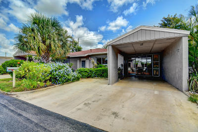 Delray Beach Single Family Home For Sale: 14750 Wildflower Lane