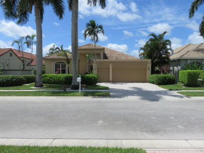 Boynton Beach Single Family Home For Sale: 11605 Privado Way