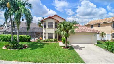Boca Raton Single Family Home For Sale: 10269 Islander Drive