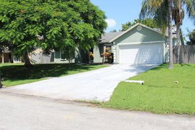 Port Saint Lucie Single Family Home For Sale: 2653 SE Export Avenue