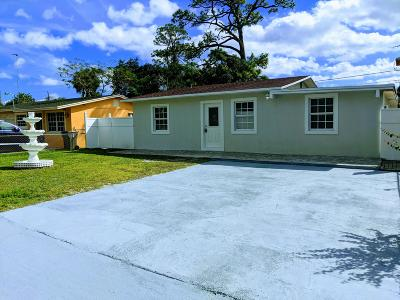West Palm Beach Single Family Home For Sale: 5940 Banana Road