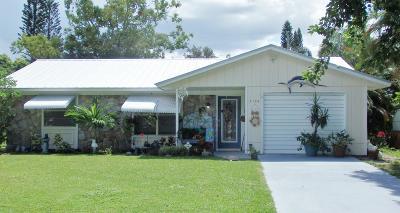 Stuart Single Family Home For Sale: 3154 SE Banyan Street