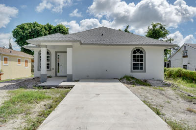 Lake Worth Single Family Home For Sale: 4816 Filer Road