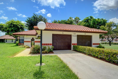 Single Family Home For Sale: 5328 Fig Palm Way #A