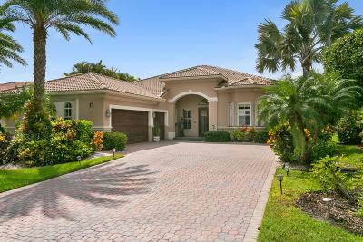 West Palm Beach Single Family Home For Sale: 7563 Ironhorse Boulevard
