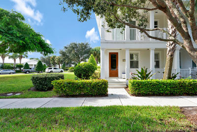 Abacoa Townhouse For Sale: 1349 Sunshine Drive