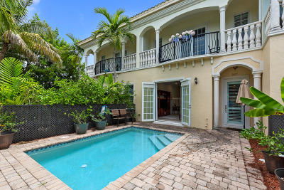 Delray Beach Townhouse For Sale: 605 Avenue H