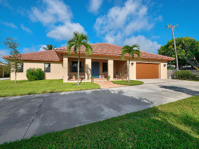 West Palm Beach Single Family Home For Sale: 5401 S Olive Avenue