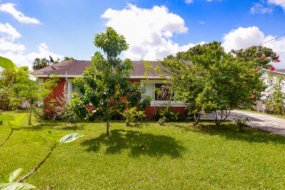 Fort Pierce Single Family Home For Sale: 2505 Indiana Avenue
