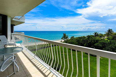 Palm Beach Condo For Sale: 2100 S Ocean Boulevard #407s
