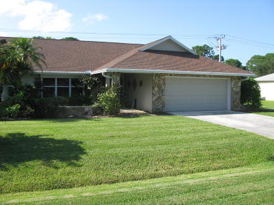 Fort Pierce Single Family Home For Sale: 5709 Paleo Pines Circle