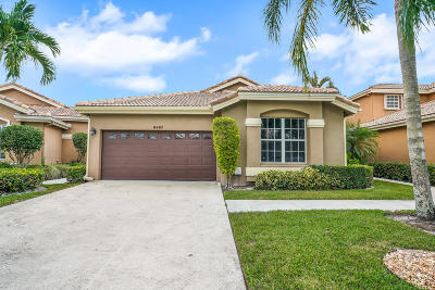 West Palm Beach Single Family Home For Sale: 8487 Quail Meadow Way