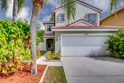 Lake Worth Single Family Home For Sale: 6656 Green Island Circle