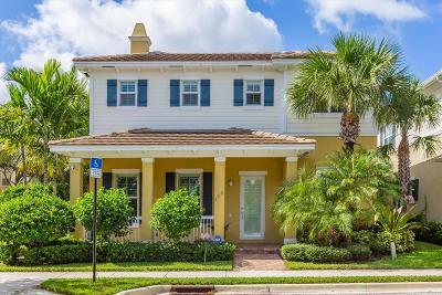 Jupiter Single Family Home For Sale: 156 Botanica Drive