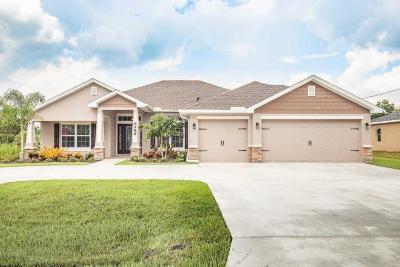Port Saint Lucie Single Family Home For Sale: 5336 NW Nassau Lane