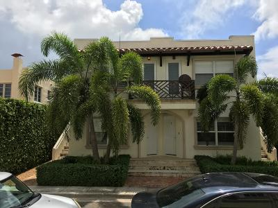 Palm Beach Single Family Home For Sale: 252 Oleander Avenue #1, 2, 3,