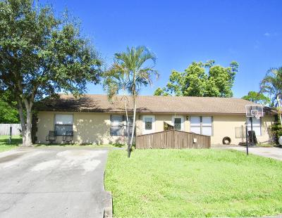 Martin County Multi Family Home For Sale: 6110 SE Michael Drive