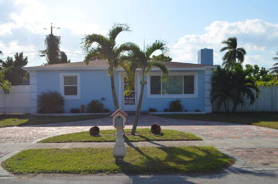 West Palm Beach Single Family Home For Sale: 2313 Redwood Road