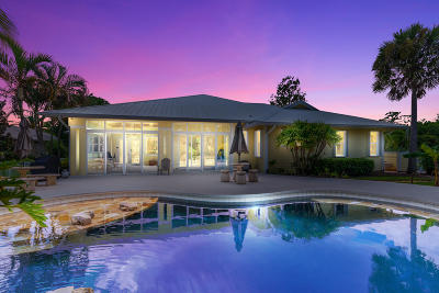 Palm City Single Family Home For Sale: 165 SW Cassine Court