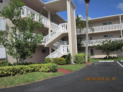 Lake Worth Condo For Sale: 2566 Garden Drive S #303