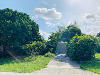 Palm Beach Gardens Single Family Home For Sale: 563 Riverside Dr Drive