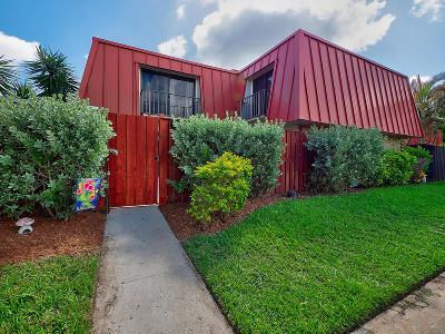 Palm Beach Gardens Townhouse For Sale: 3310 S Meridian #Unit C