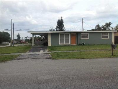 West Palm Beach Single Family Home For Sale: 1816 Violet Avenue