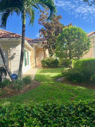 Delray Beach Single Family Home For Sale: 4777 Valencia Drive