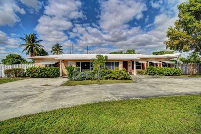 Delray Beach Multi Family Home For Sale: 832 SE 4th Avenue
