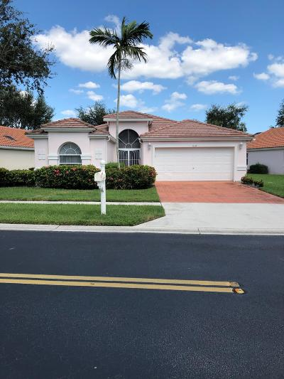 Boynton Beach Single Family Home For Sale: 6337 Coral Reef Terrace