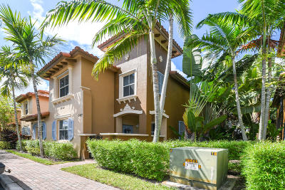 West Palm Beach Townhouse For Sale: 2923 Hope Valley Street #507