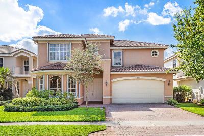 Boynton Beach Single Family Home For Sale: 11403 Millpond Greens Drive
