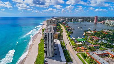 Condo For Sale: 250 S Ocean Boulevard #14e