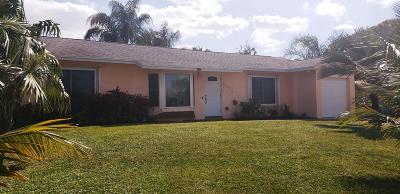 Boynton Beach Single Family Home For Sale: 3554 Lothair Avenue