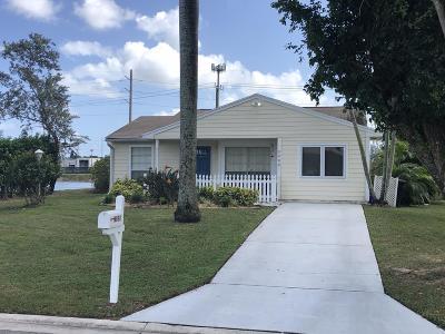 Boynton Beach Single Family Home For Sale: 9088 Carma Drive
