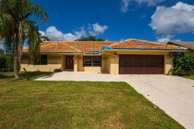 Boynton Beach Single Family Home For Auction: 9961 Majestic Way