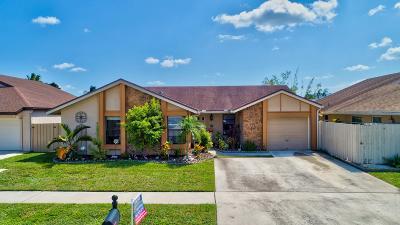 Boca Raton Single Family Home For Sale: 11472 Whisper Sound Drive