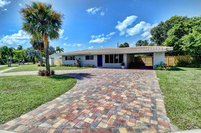 Boca Raton Single Family Home For Sale: 549 NW 12th Terrace