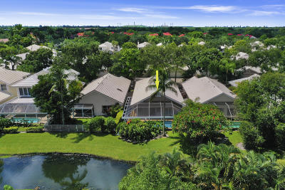 Palm Beach Gardens Single Family Home For Sale: 285 Canterbury Drive W